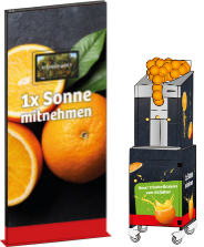 Orange X-Press – individuelle Beklebung