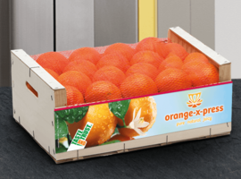 Orange X-Press Orangenkiste